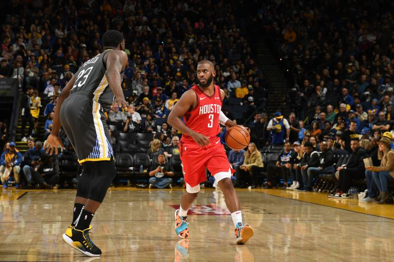 baac1c9f9 Chris Paul Electric as Rockets Beat Kevin Durant