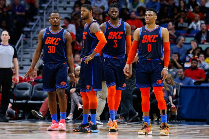 info for 0d244 69714 Thunder Clinch 2019 NBA Playoff Berth with Kings' Loss to ...