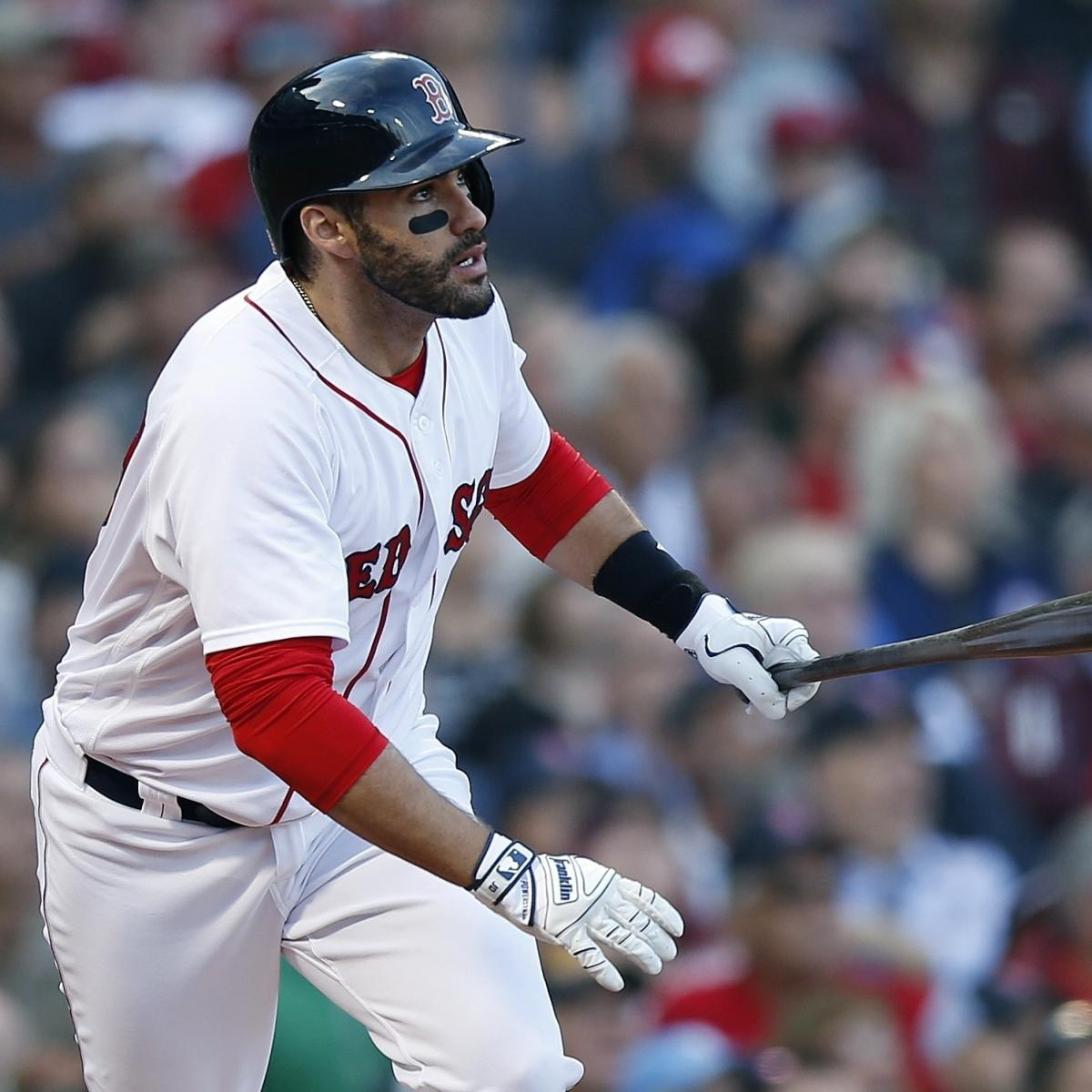 Red Sox's JD Martinez On MLB Free-Agency Market: It's