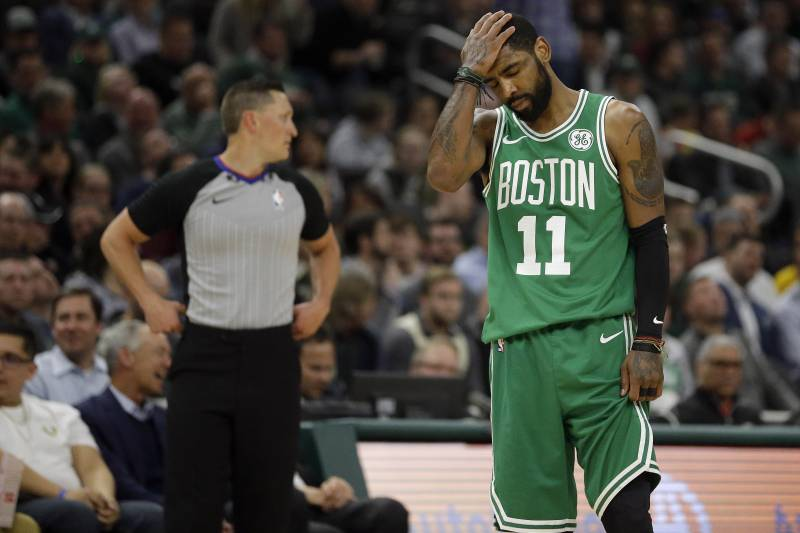 Image result for celtics kyrie lose