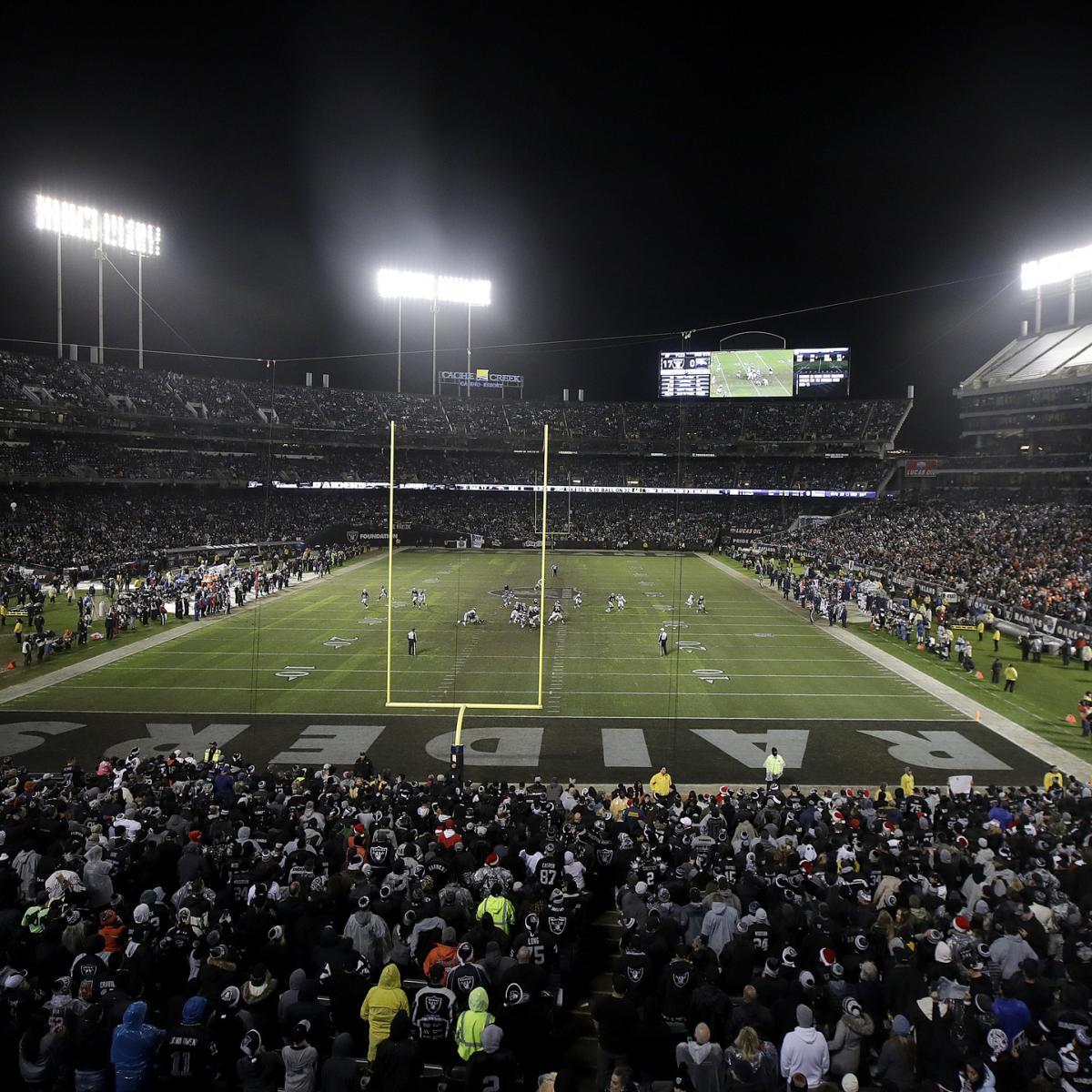 Oakland Raiders New Stadium: Raiders Rumors: OAK Reaches Stadium Deal To Play 2019
