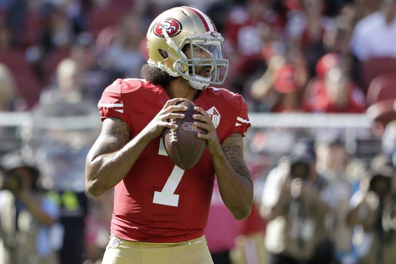 1cfaf6a2f0215 Report  Colin Kaepernick Discussed Joining XFL with  20M Contract ...