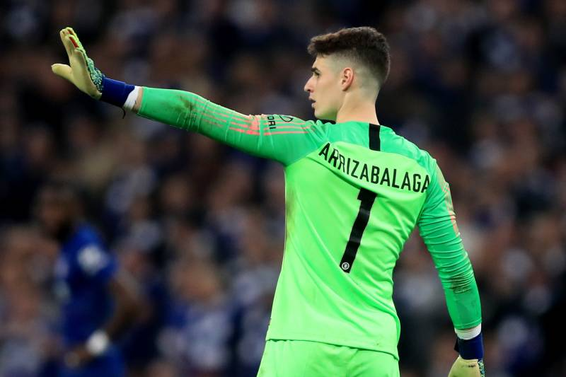 cheap for discount 79526 07849 Kepa Arrizabalaga Fined by Chelsea Amid Reports of Dressing ...