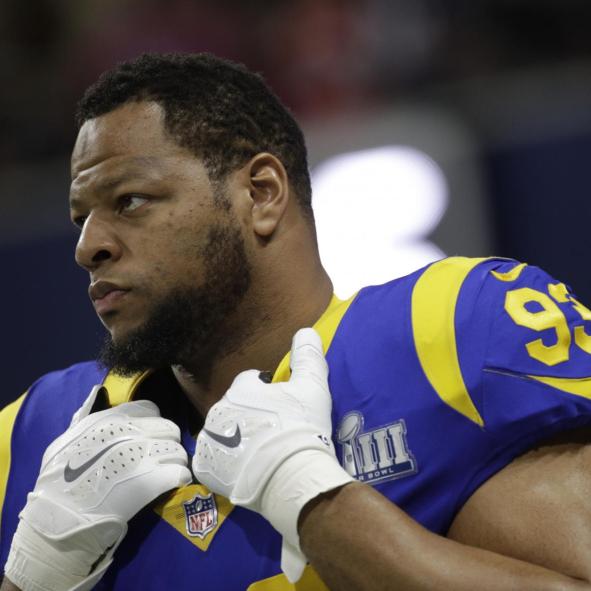 d2a30fa3a Ndamukong Suh on Rams Future Entering Free Agency   We ll See ...