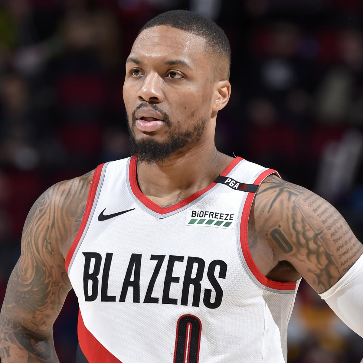 Video: Damian Lillard, Multiple Trail Blazers Trapped In