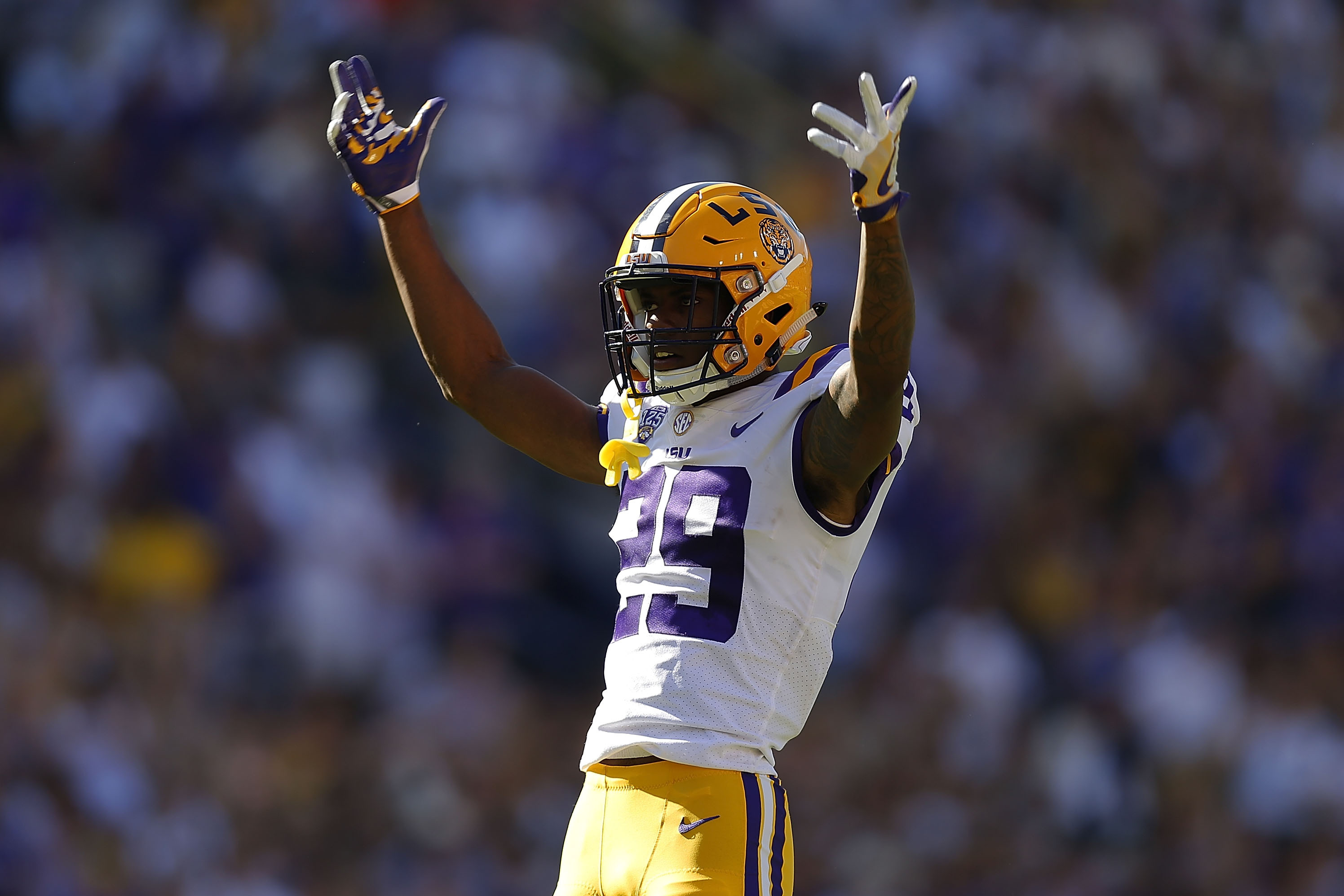 size 40 f4e84 1bc97 Browns Draft Greedy Williams; Joins Ex-LSU Players Odell ...