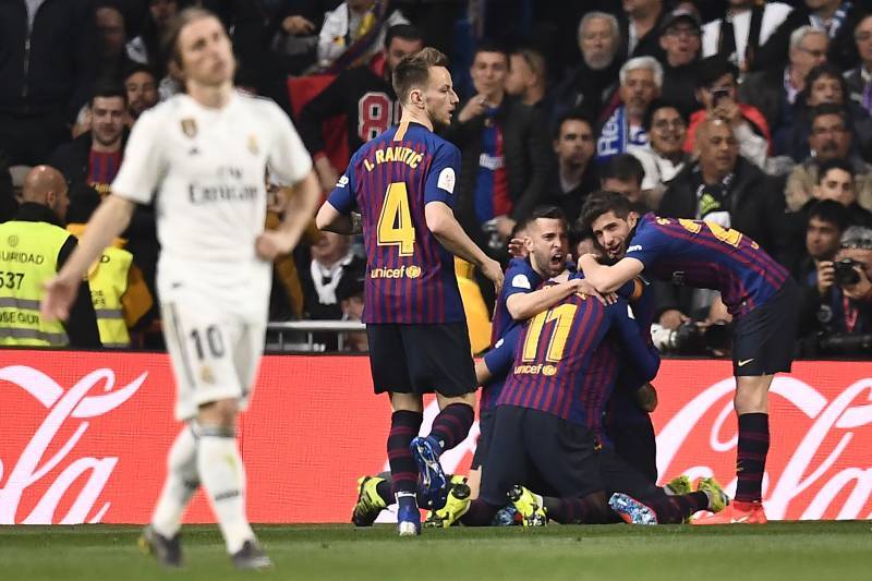 7ae2a857694 Barcelona Advance to 2019 Copa del Rey Final After El Clasico Win vs Real  Madrid