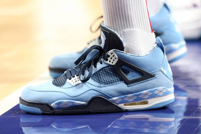 f9c5af671fc CHARLOTTE, NC - FEBRUARY 27: The sneakers of PJ Tucker #17 of the