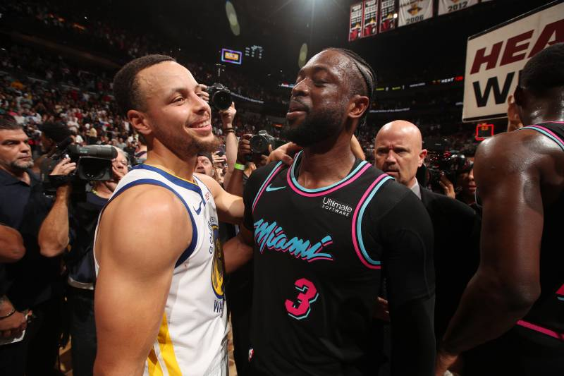 cb923b0c7 Dwyane Wade to Stephen Curry   I Needed This One  After Game-Winner vs.  Warriors