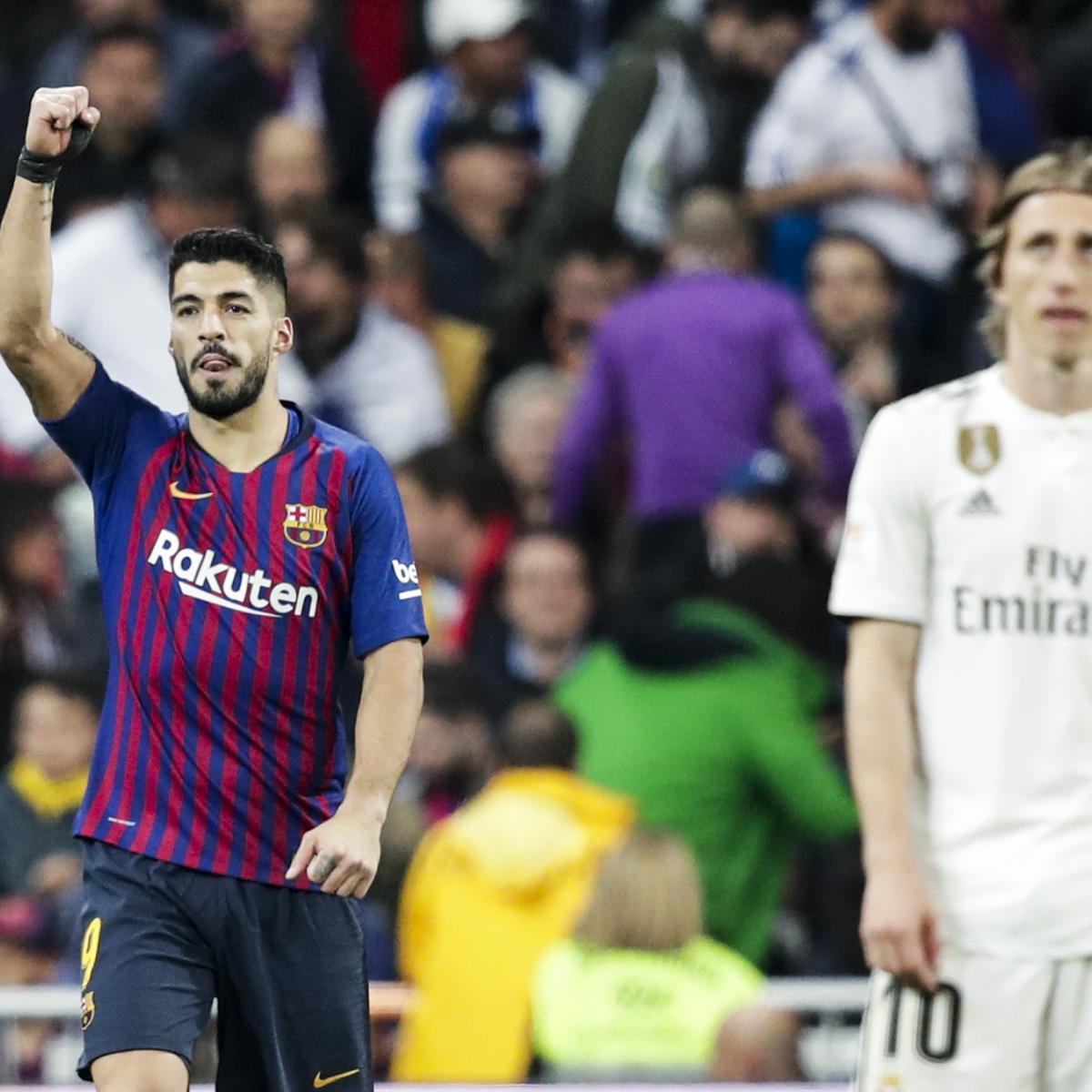 Real Madrid Vs. Barcelona: El Clasico 2019 Odds, Preview