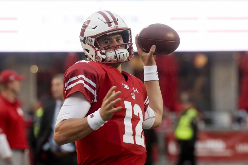 new styles 76b11 cfb5a Ex-Wisconsin QB Alex Hornibrook Reportedly Will Transfer to ...