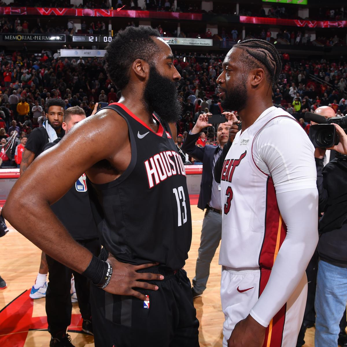 Nba2k19 James Harden: Dwyane Wade: James Harden 'One Of The Most Unguardable