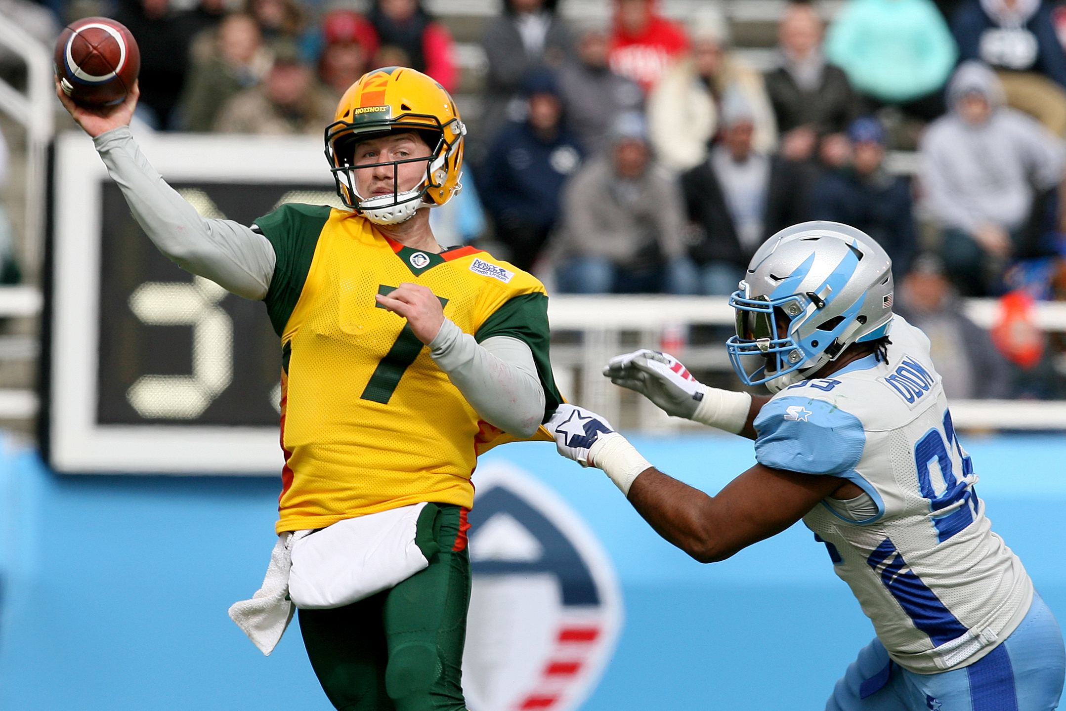 Who Is John Wolford Through 3 Weeks Arizona Qb Leads Aaf In Passing Tds Bleacher Report Latest News Videos And Highlights