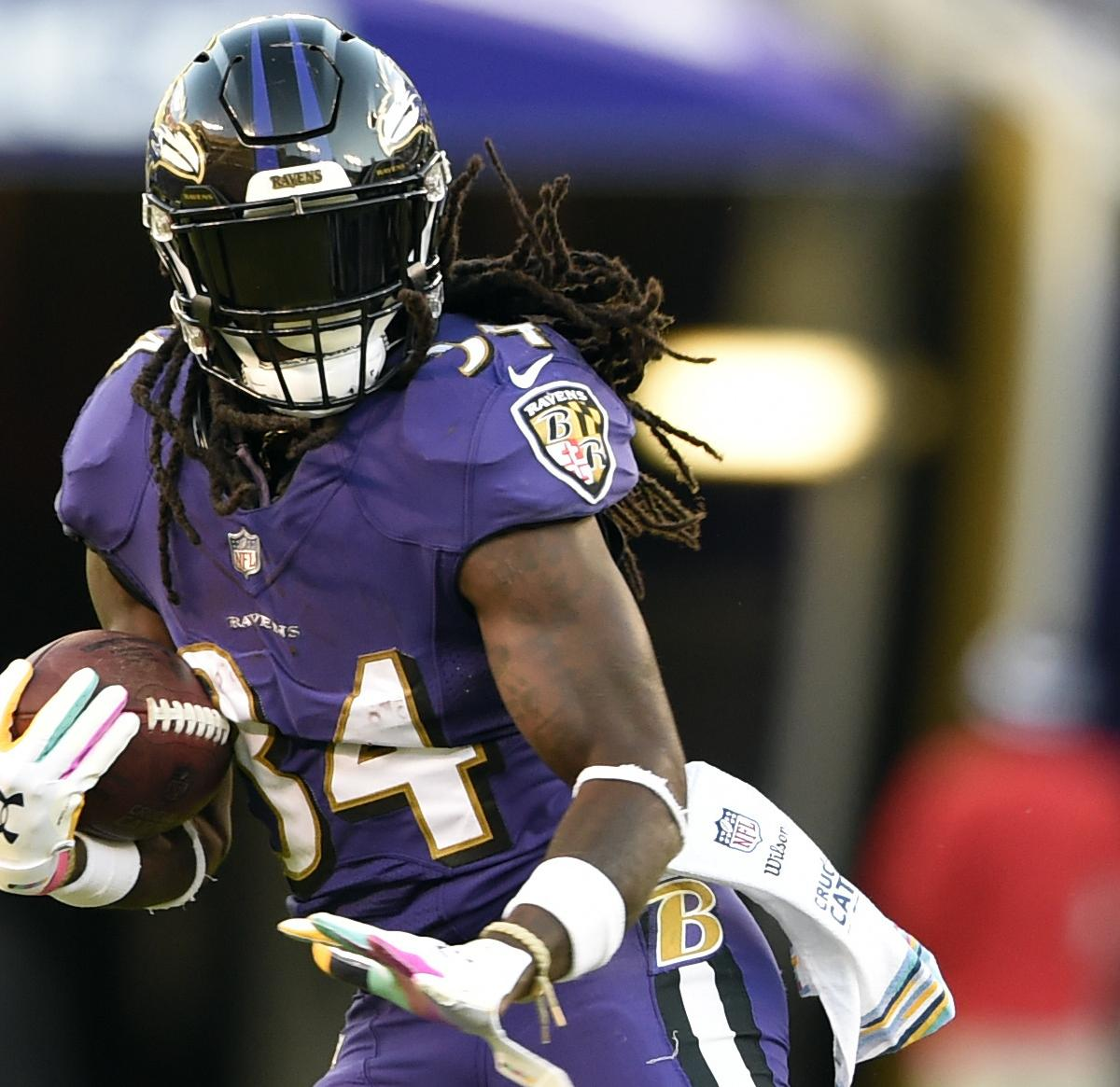 Alex Collins Waived By Ravens After Arrest Following Car
