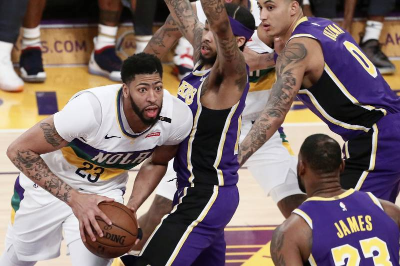 3ca9ddbed Anthony Davis Trade Rumors  Lakers  Reported Offer May Not Have Been True