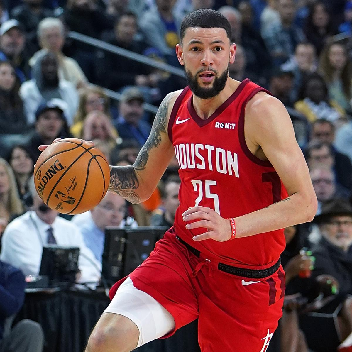 Houston Rockets Game Log: Austin Rivers Out With Illness For Rockets Vs. Warriors