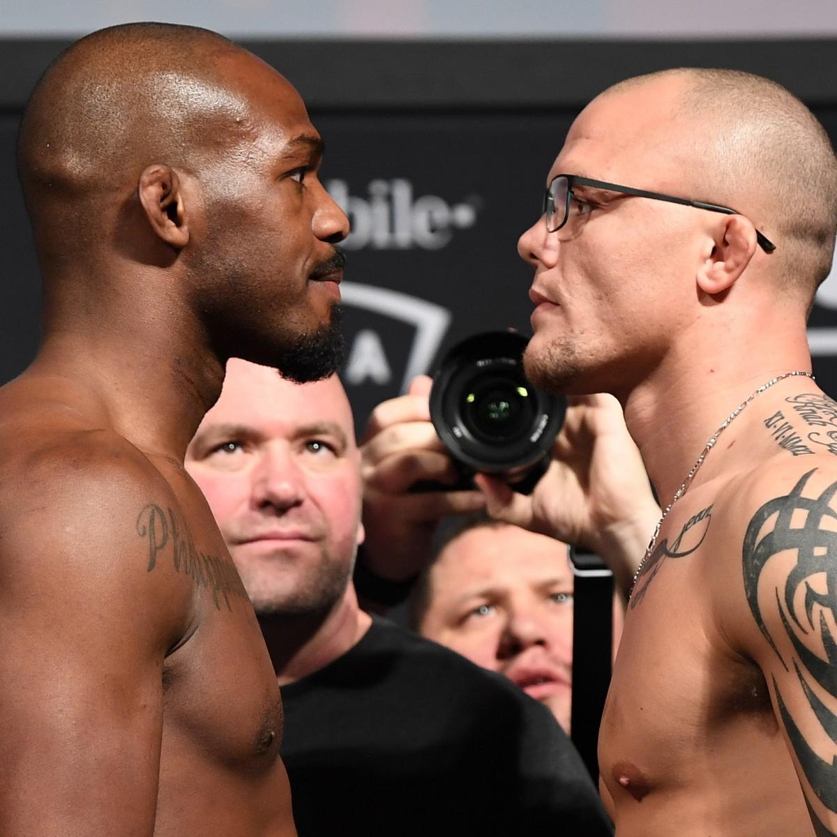 UFC 235 Fight Card: Schedule, Odds, Predictions for Jon