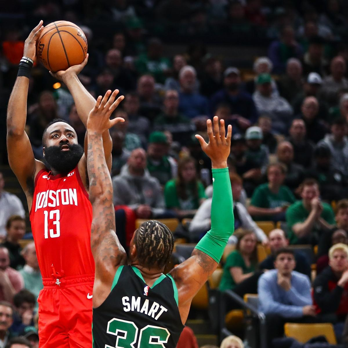 James Harden Latest News: James Harden's 42 Points Lead Rockets Past Kyrie Irving