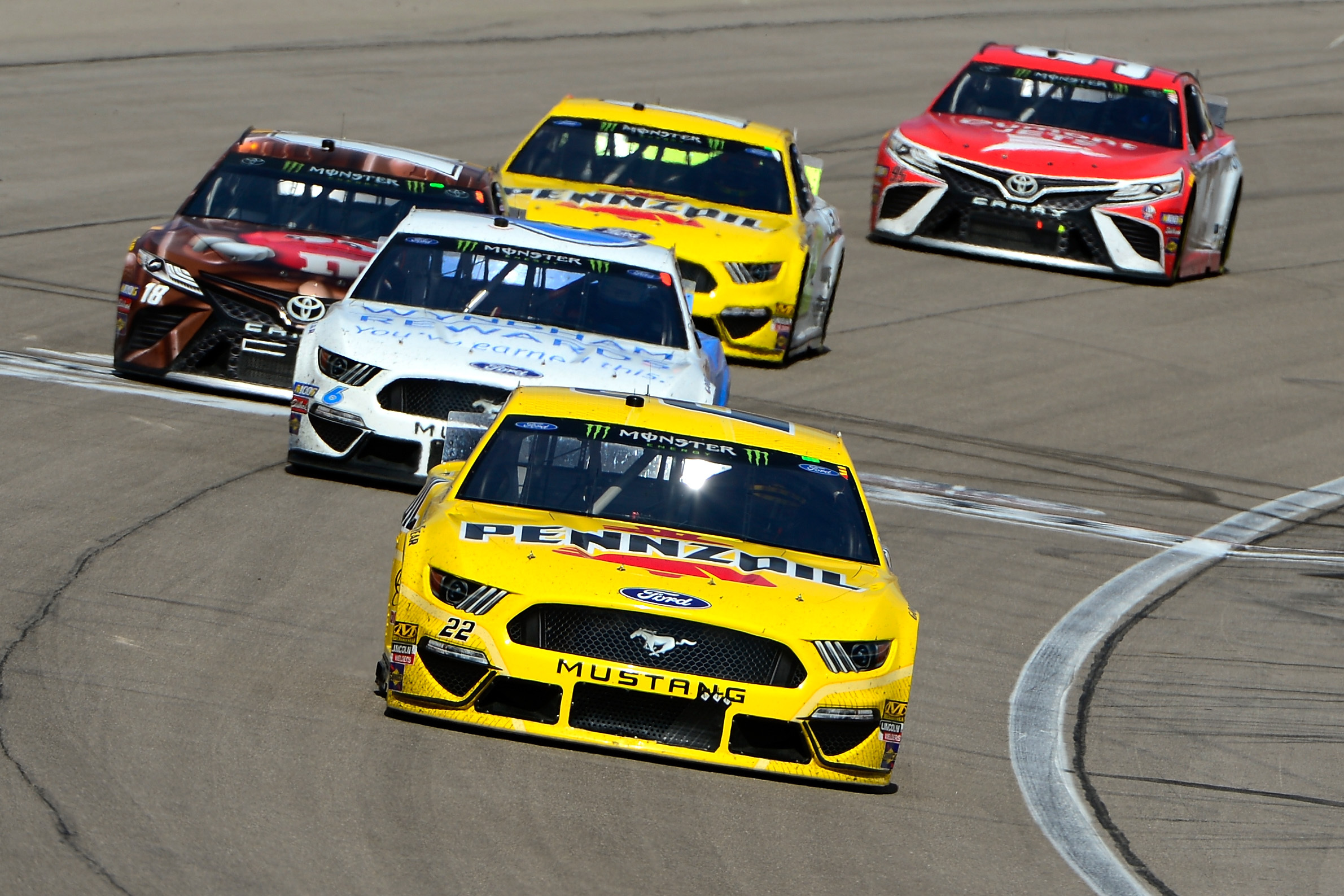 NASCAR at Las Vegas 2019 Results: Joey Logano Bests Brad Keselowski for Win | Bleacher Report | Latest News, Videos and Highlights