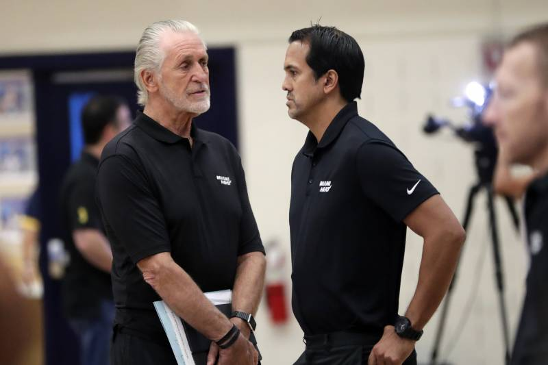 Heat News Pat Riley Looking To Clear Cap Room For 2020 Nba Free Agency Bleacher Report Latest News Videos And Highlights