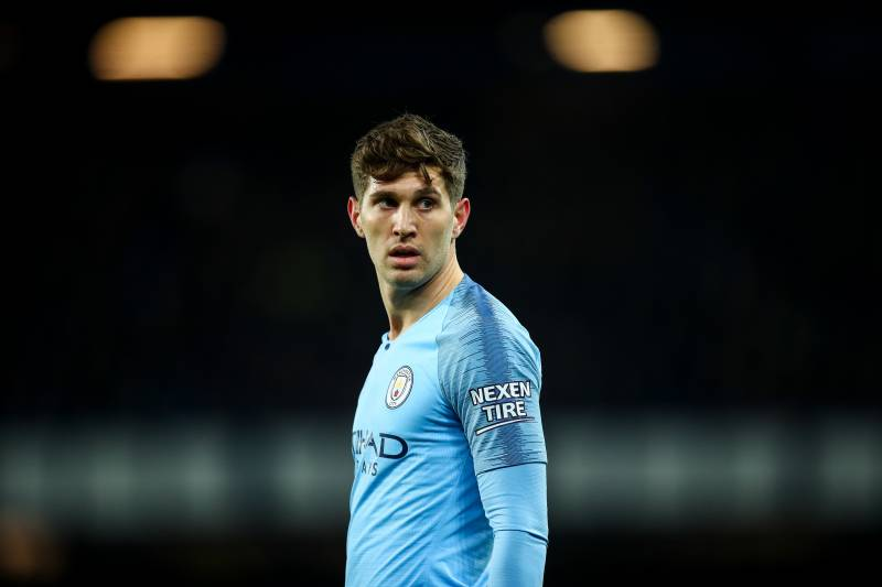 buy popular 2322f 4d483 Manchester City's John Stones out 4-5 Weeks with Injury, Per ...