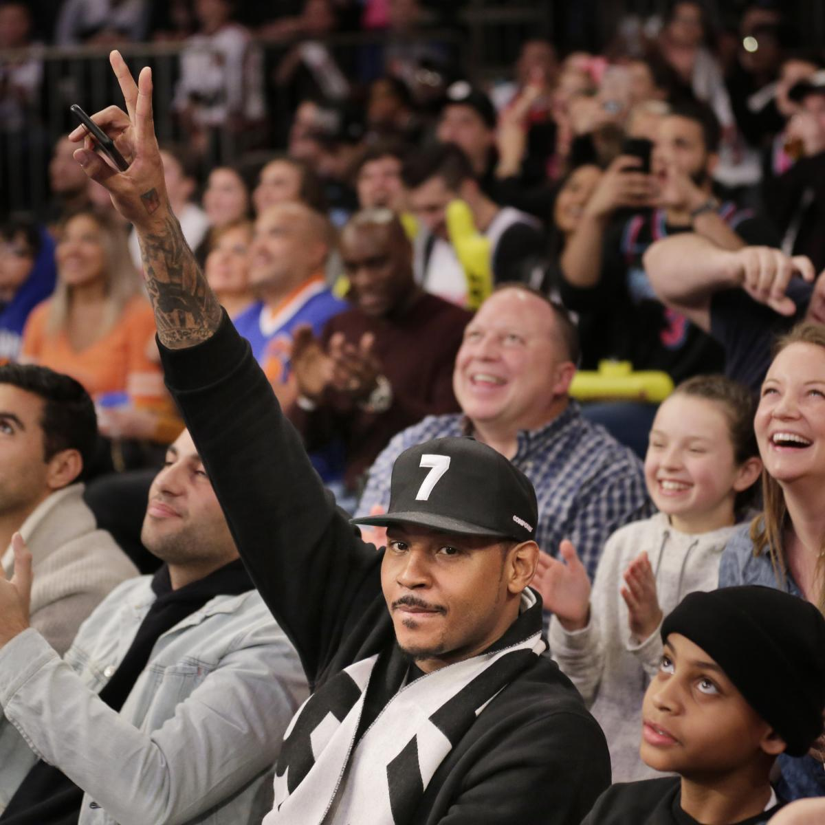 Lakers Rumors: Carmelo Anthony, LA 'Pausing' Contract ...