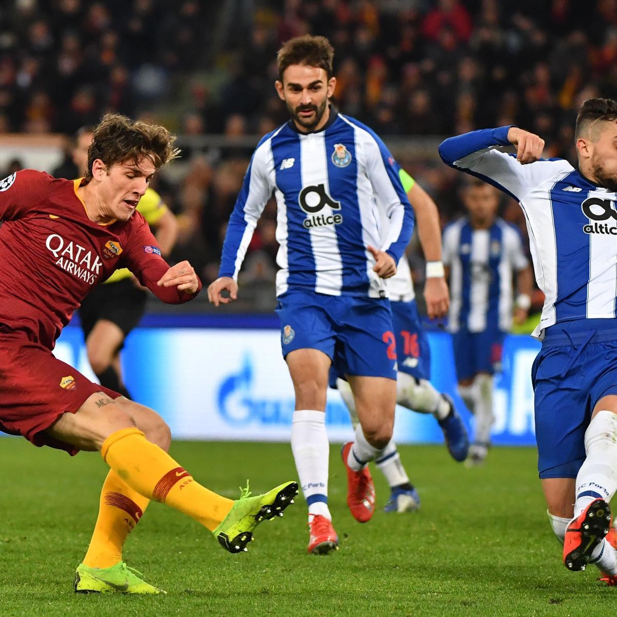 Champions League 2019 Round Of 16 Leg 2 Live Stream Tv: FC Porto Vs. AS Roma Leg 2: How To Watch, Live-Stream Info