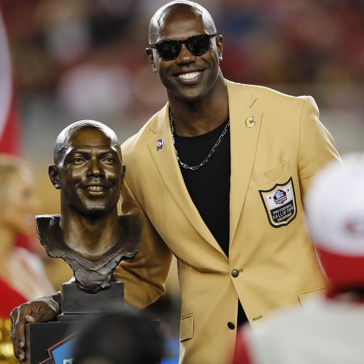3c3aa306823 Terrell Owens to Join Jerry Rice, Joe Montana, More as 28th Member of 49ers  HOF