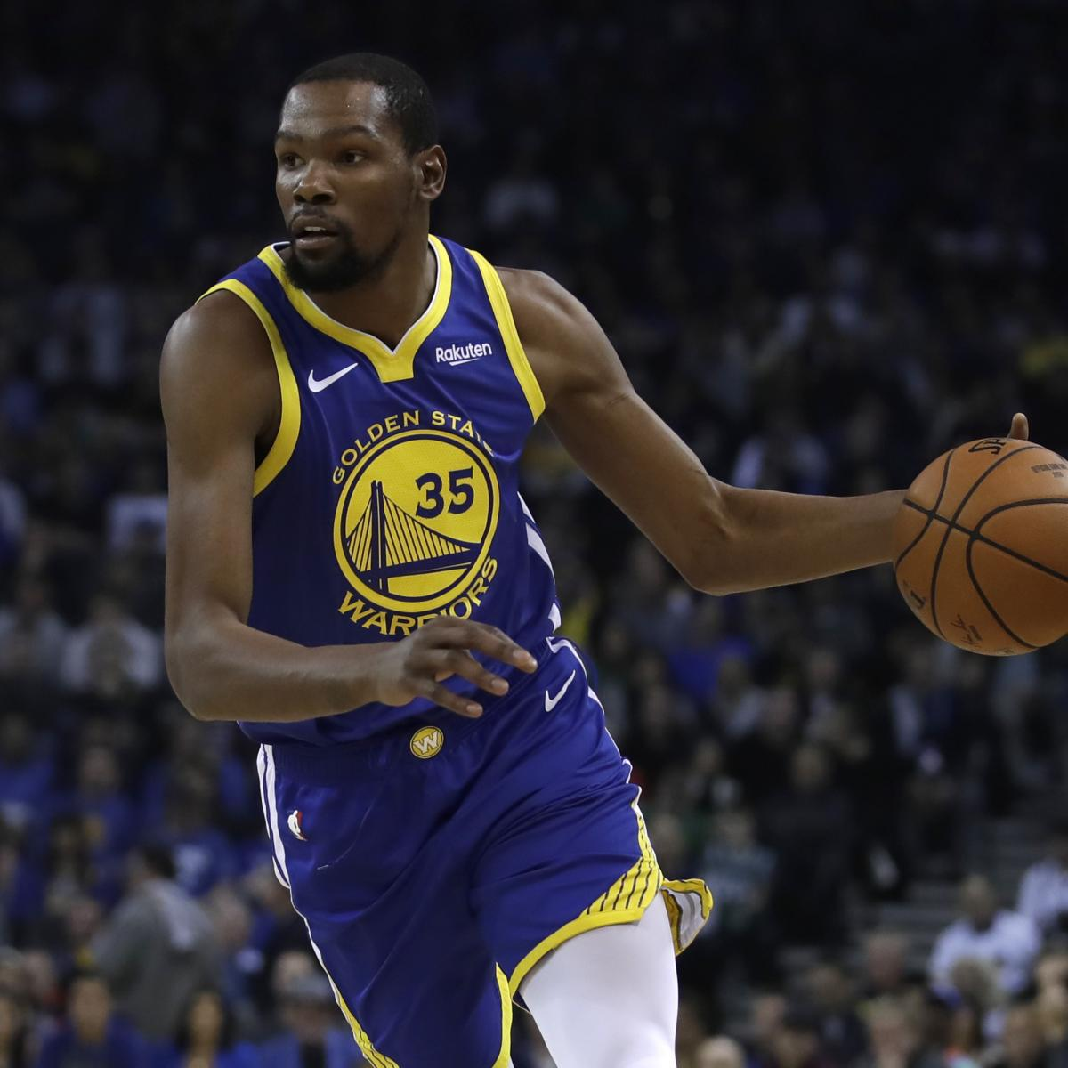 Warriors Come Out To Play Bleacher Report: Kevin Durant Rumors: Some Within Warriors Think Star Has