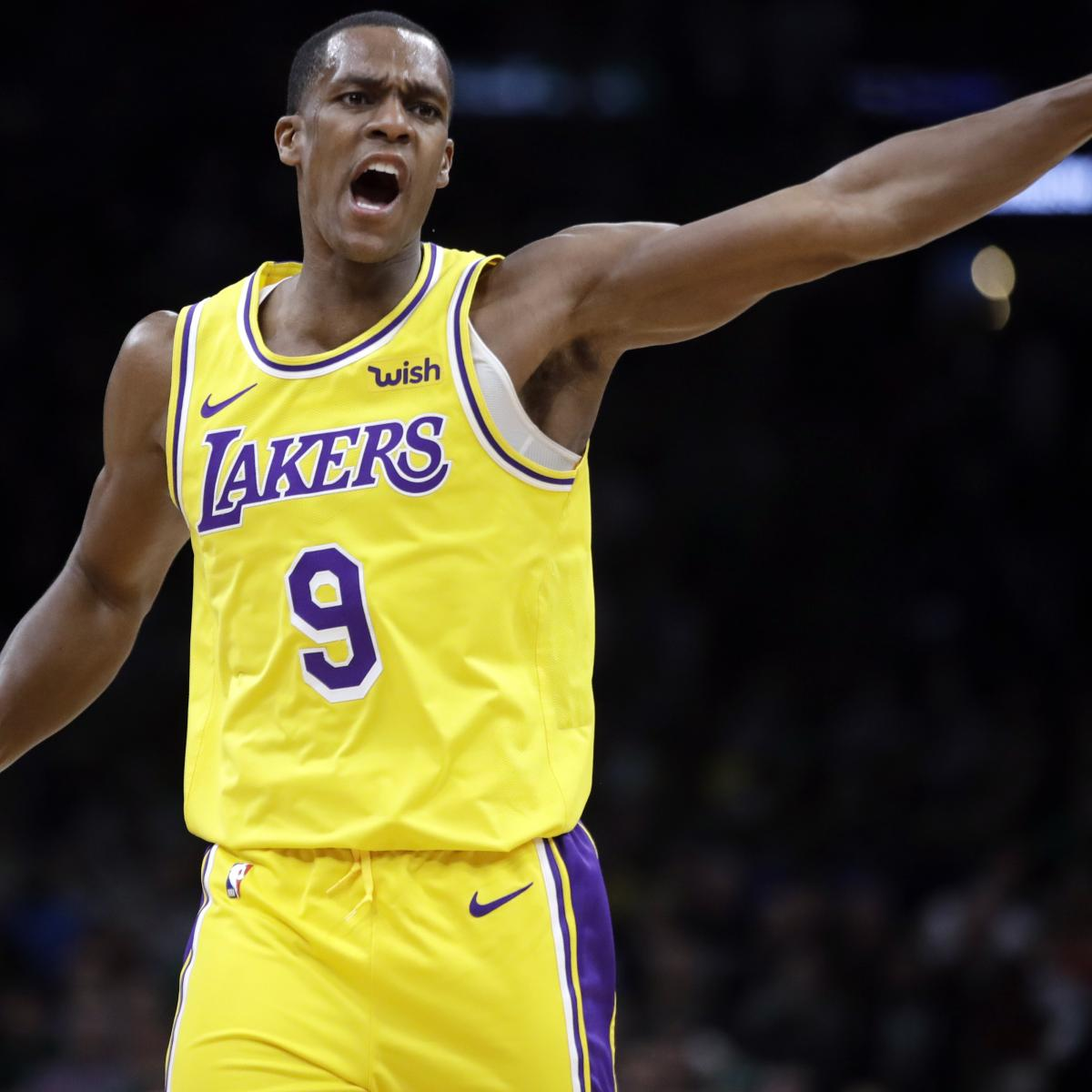 Report: Rajon Rondo Won't Be Fined For Not Sitting On