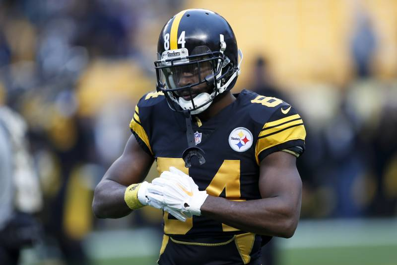best loved 89fe7 309d0 Antonio Brown Traded to Raiders for Draft Picks, Reportedly ...