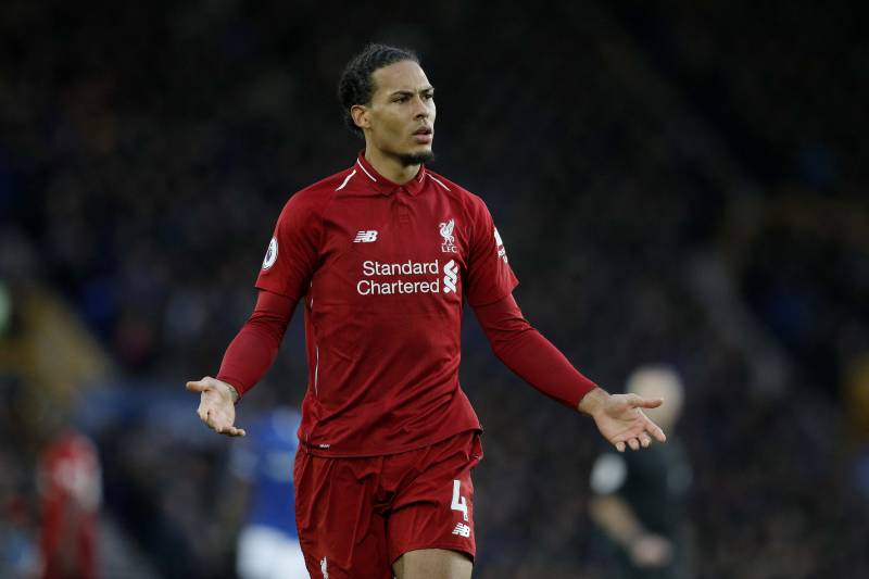 36251c79d Virgil van Dijk  Liverpool  Unlucky  to Be Against Manchester City ...
