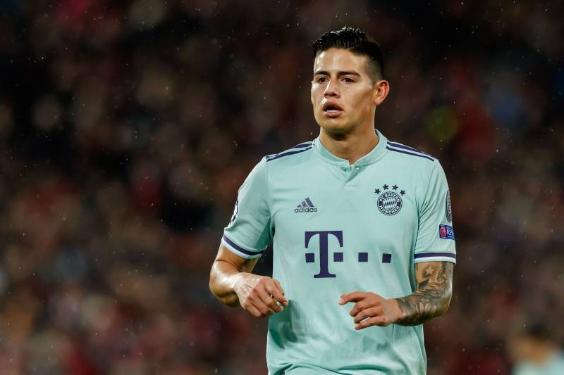 2c5c4876823 Karl-Heinz Rummenigge Talks Permanent Bayern Munich Deal for James Rodriguez