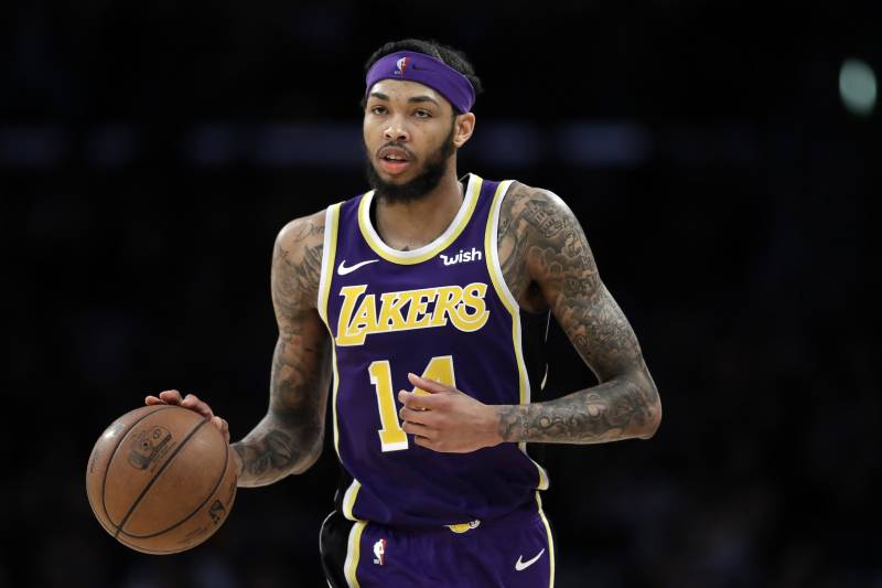 buy popular c06f3 5be91 Brandon Ingram Showed Legit Star Power Amidst Lakers Turmoil ...