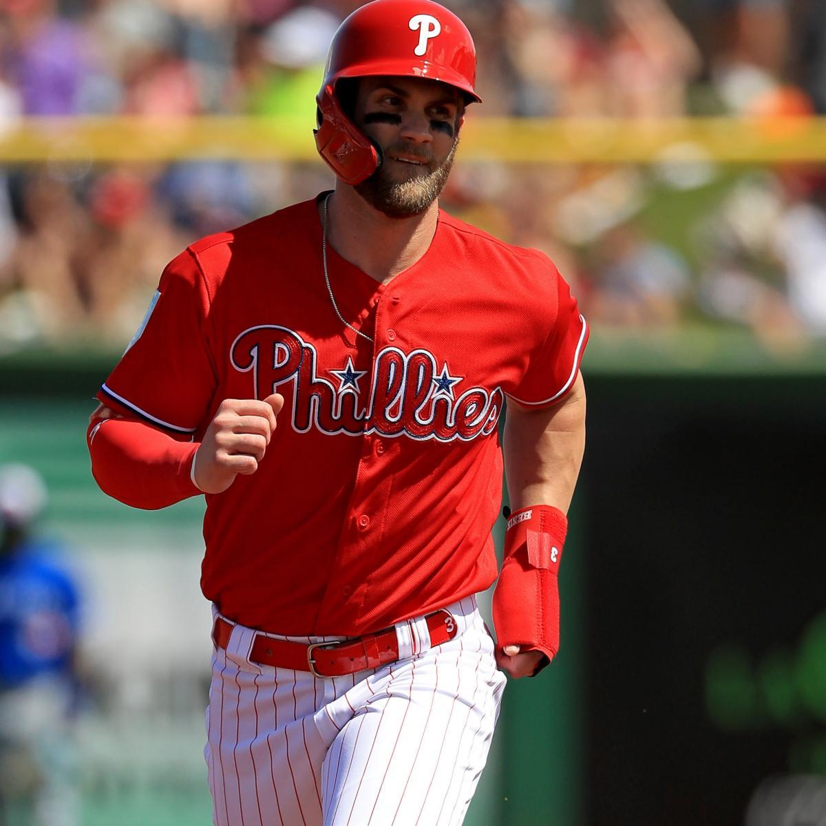 Bryce Harper Talks Phillies Spring Training Debut Fan