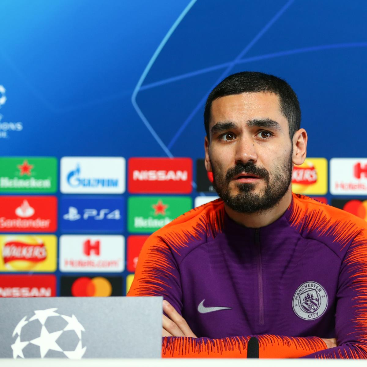 5a878365535f Ilkay Gundogan  Always Open-Minded  as Manchester City Contract Enters Last  Year