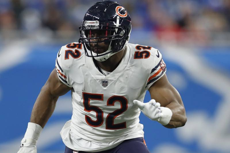 timeless design 2dd3d 711a1 Bears Rumors: Khalil Mack's Contract Restructured, Creates ...
