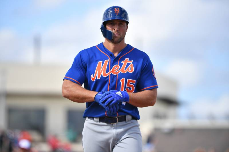 separation shoes ebc6c 14148 Tim Tebow Assigned to Minor League Camp by Mets Ahead of ...