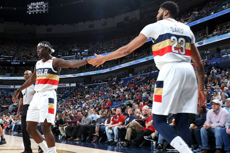 66ae0e3bec81 Does Anthony Davis Realize Jrue Holiday Is a Top-15 Player ...