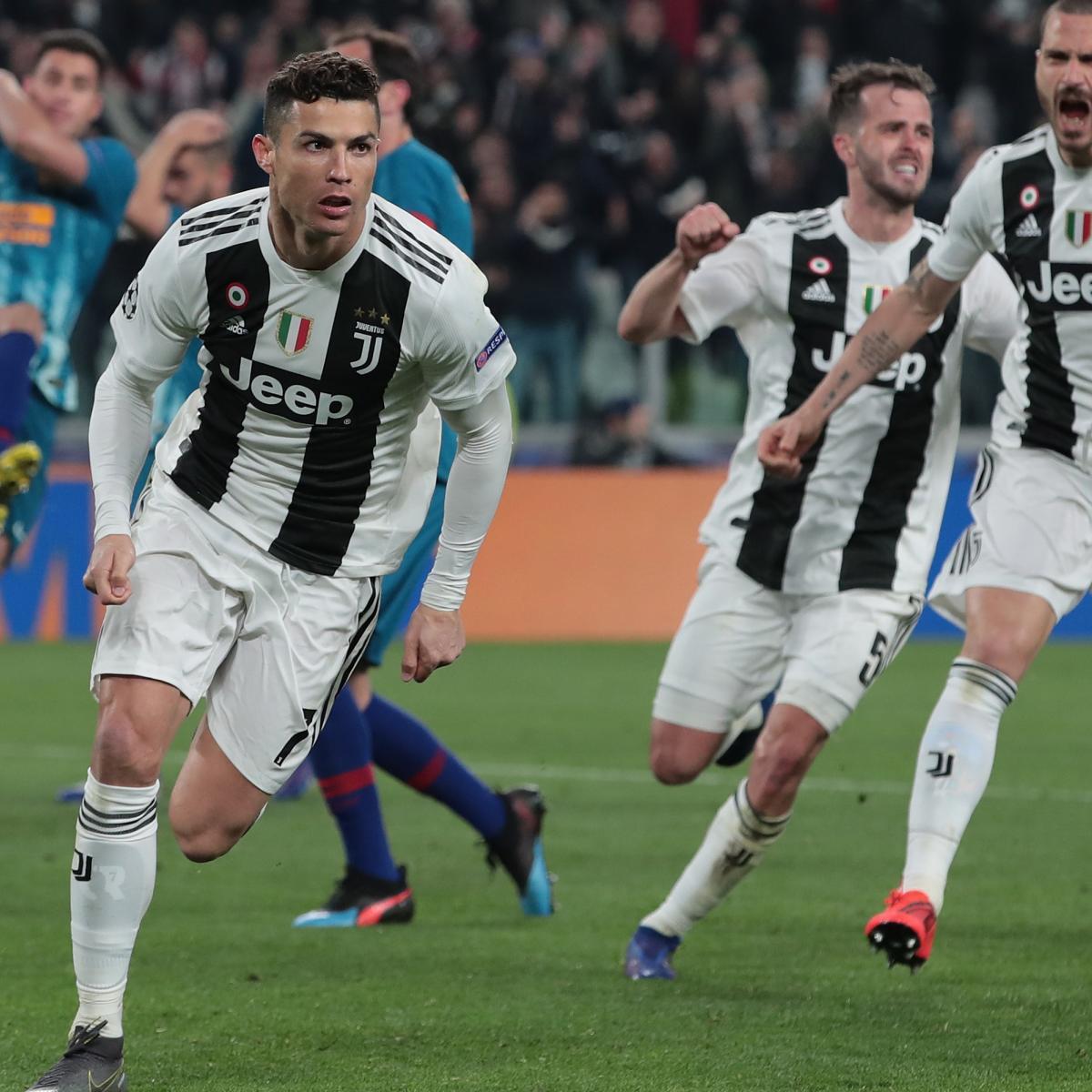 Cristiano Ronaldo S 4 Goals Lead Real Madrid To Win Vs: Cristiano Ronaldo's Hat Trick Lead Juventus To Win Vs