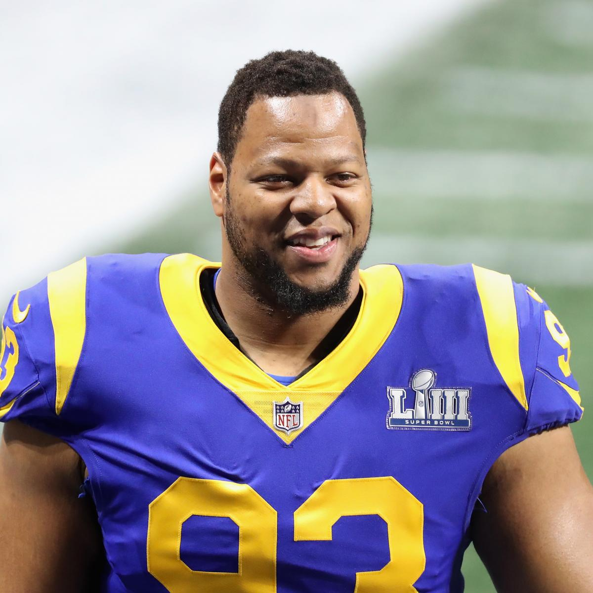 a683bbcb63f Ndamukong Suh Rumors: Latest on Star's Status with Rams, Preferred Teams,  More | Bleacher Report | Latest News, Videos and Highlights
