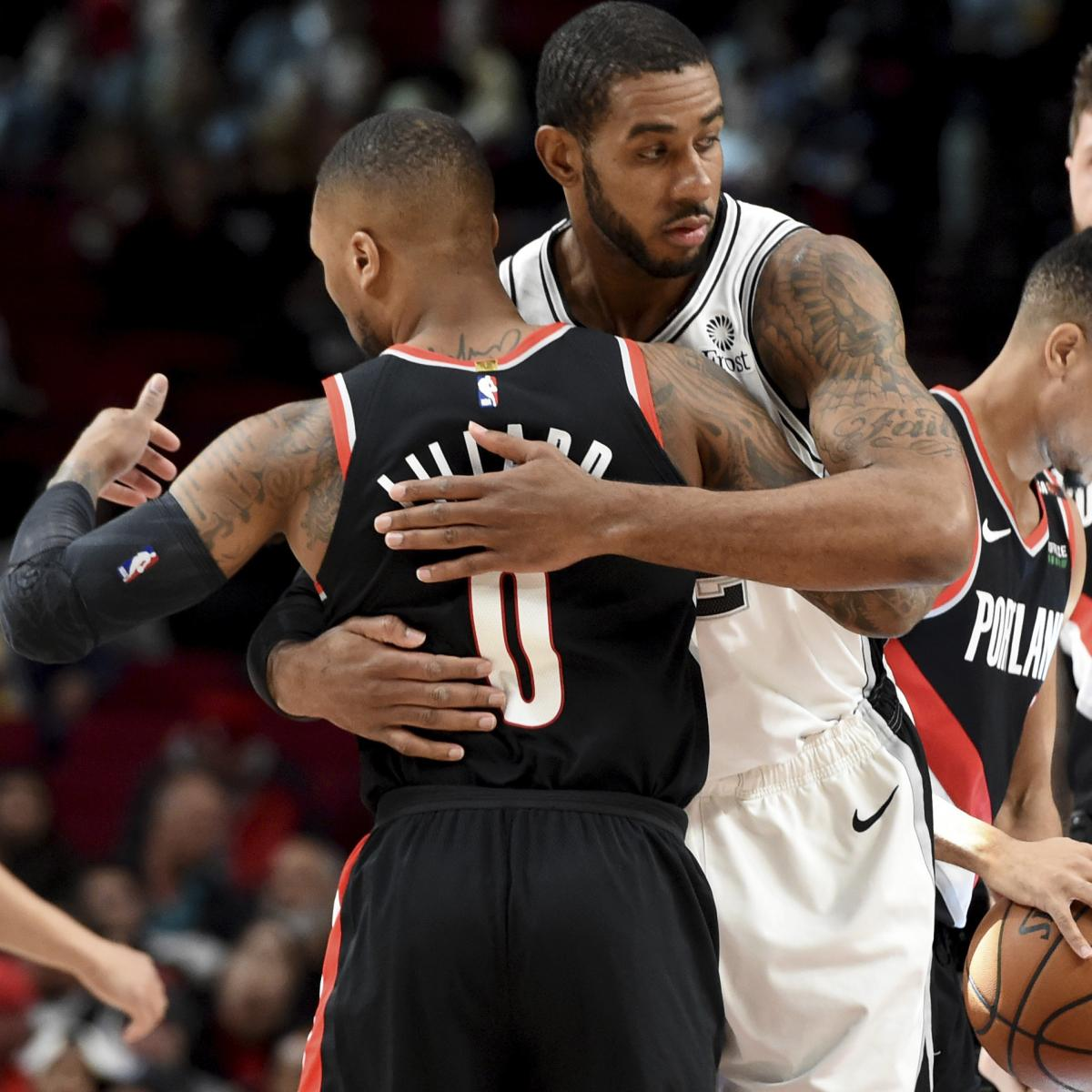 Portland Trail Blazers Contracts: LaMarcus Aldridge Has Discussed Returning To Trail Blazers