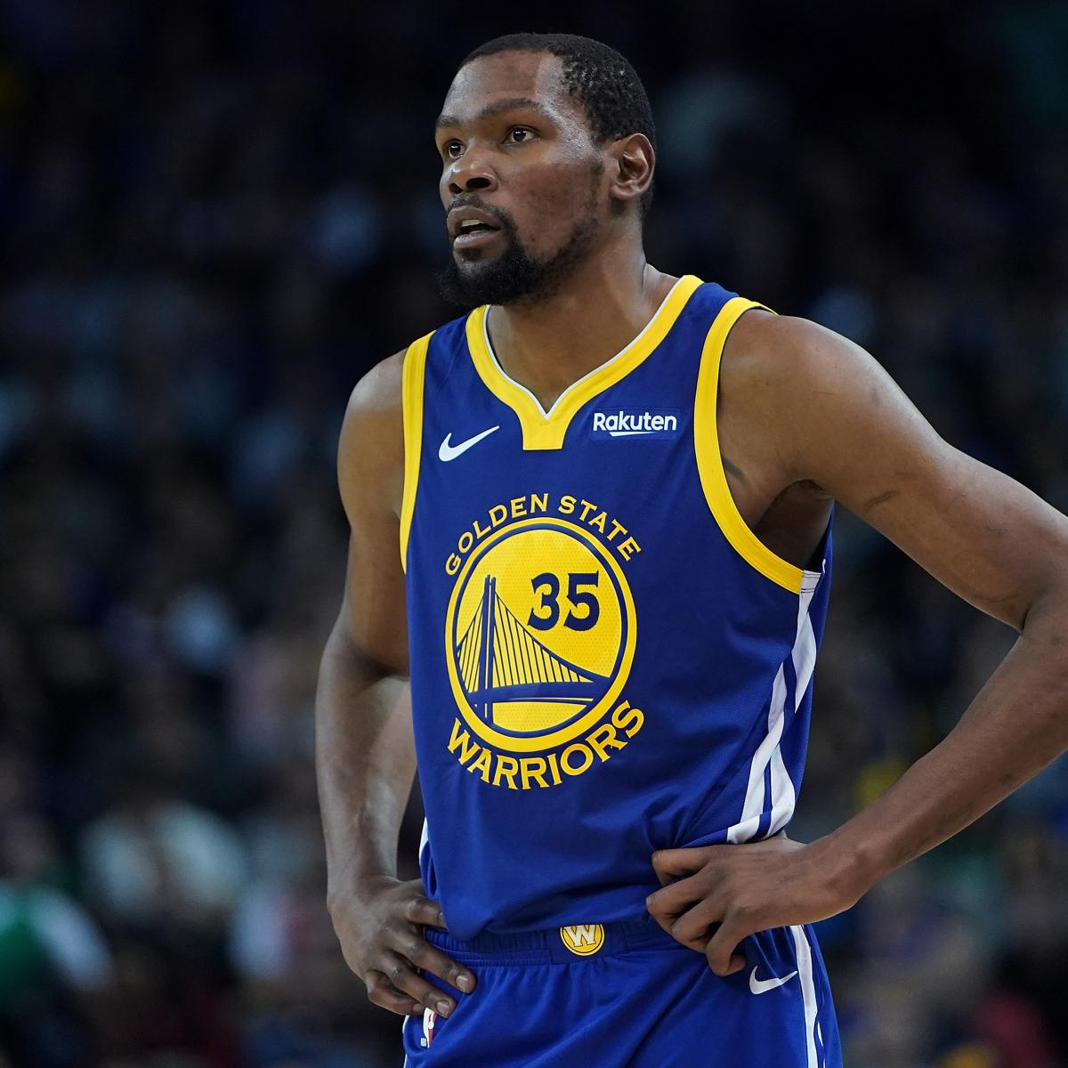 Rockets Vs Warriors Head To Head: Kevin Durant Won't Play In Warriors Vs. Thunder Because Of