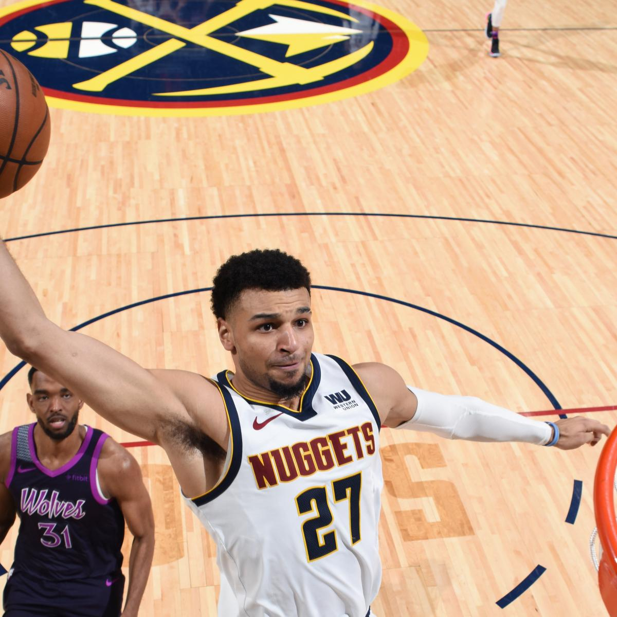 Nuggets Murray: Jamal Murray Erupts As Nuggets Rout Karl-Anthony Towns