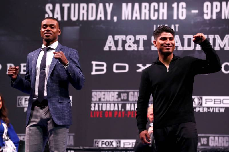 Errol Spence Jr  vs  Mikey Garcia: Fight Odds, Time, Date, Live