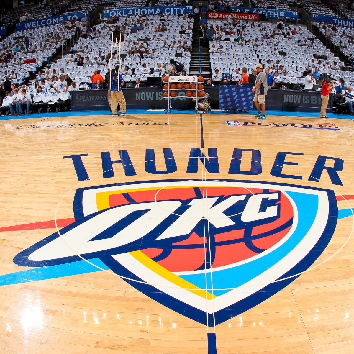 e1a784b529b Thunder Agree to Jersey Patch Sponsorship with Love's Travel Stops |  Bleacher Report | Latest News, Videos and Highlights