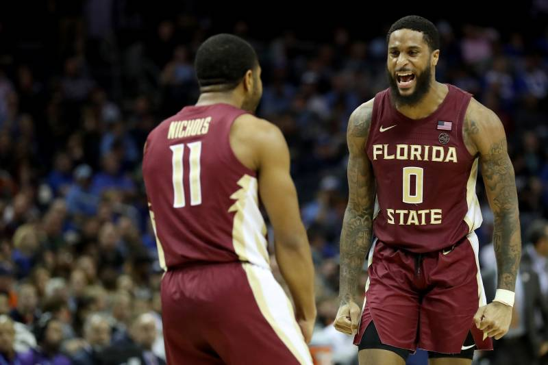 844529acfcf No. 2 Virginia Upset 69-59 by FSU in 2019 ACC Tournament Semifinals ...