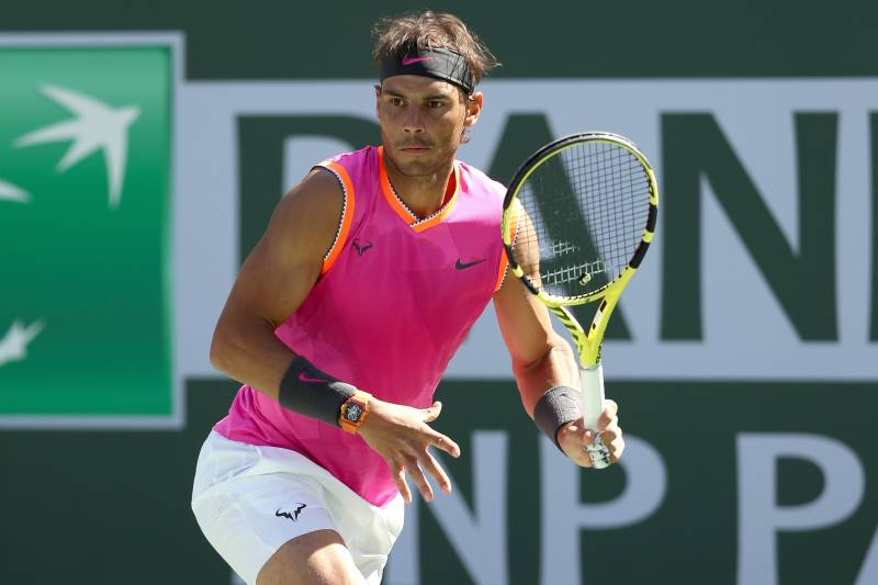eee51f517990d Rafael Nadal Out of Indian Wells With Knee Injury  Roger Federer in ...