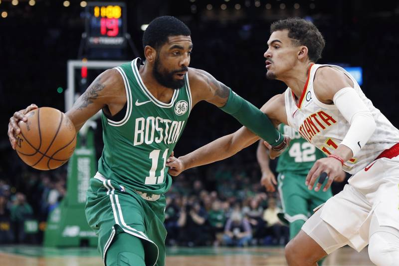 1f2f6c0e1465 Kyrie Irving Drops 30 Points as Celtics Beat Trae Young