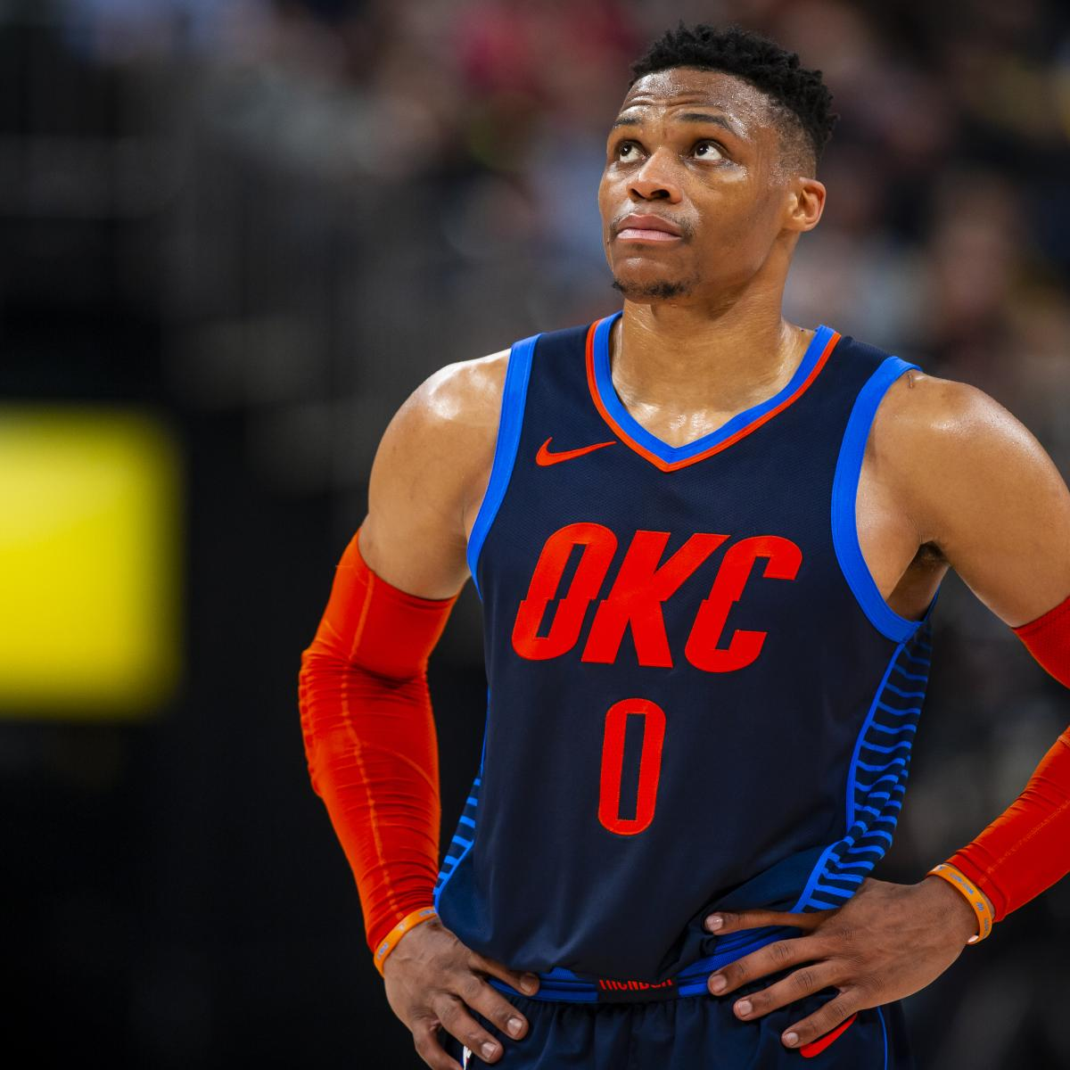 The NBA announced Sunday it would not be rescinding Russell Westbrook 's 16th technical foul from Saturday, meaning the Oklahoma City Thunder guard will be suspended for one game...